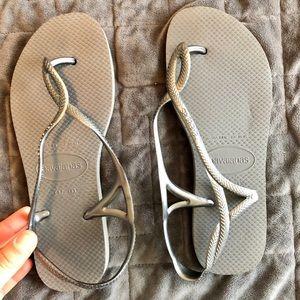 Havianas sandals, size 37